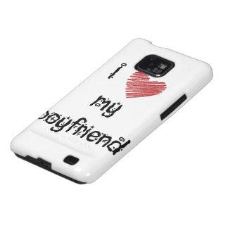 I love my boyfriend galaxy s2 cases