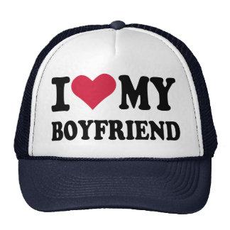 I love my boyfriend trucker hats