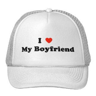 I Love My Boyfriend Hat