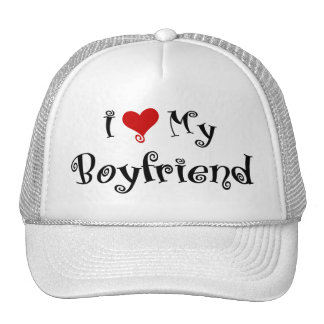 I Love My Boyfriend Hat / Cap