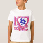 "I Love My Boyfriend pink/purple - photo T-Shirt<br><div class=""desc"">I Love My Boyfriend pink/purple - photo</div>"