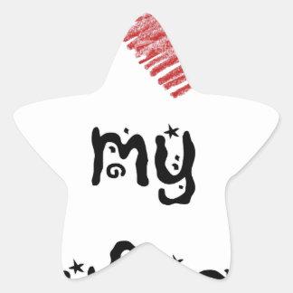 I love my boyfriend star sticker