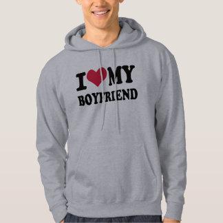 I love my boyfriend sweatshirt