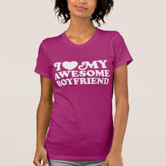 I Love My Boyfriend T-shirts