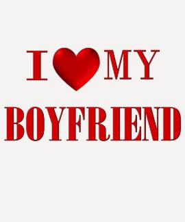 I Love my Boyfriend Tee Shirts