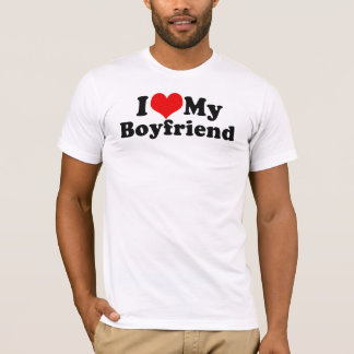 I Love My Boyfriend Valentine's Day T-Shirt