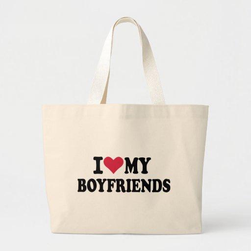 I love my boyfriends tote bags