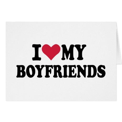 I love my boyfriends cards