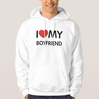 I Love My Boylfriend Hooded Sweatshirt