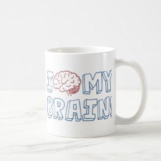 I Love My Brain Coffee Mug