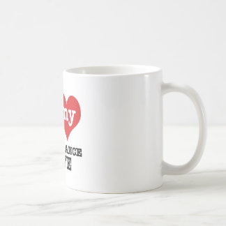 I love my breakdance  Boyfriend Coffee Mug