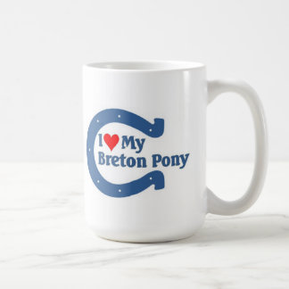 I love my Breton Pony Coffee Mug