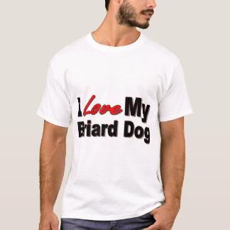 I Love My Briard Dog Merchandise T-Shirt