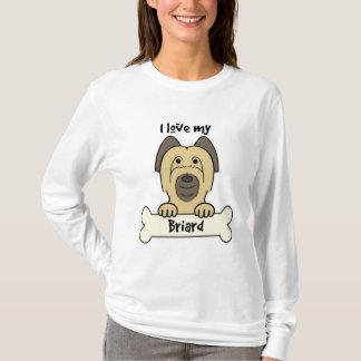 I Love My Briard T-Shirt