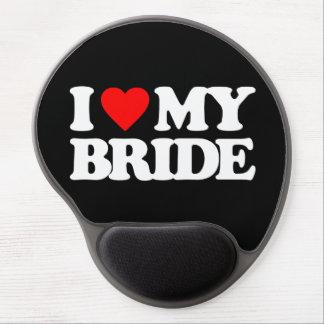 I LOVE MY BRIDE GEL MOUSEPAD