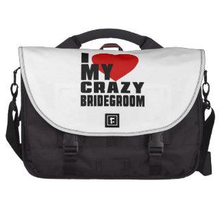 I LOVE MY BRIDEGROOM LAPTOP COMPUTER BAG