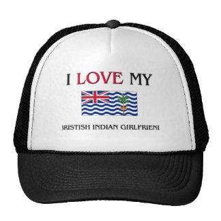 I Love My Bristish Indian Girlfriend Trucker Hat