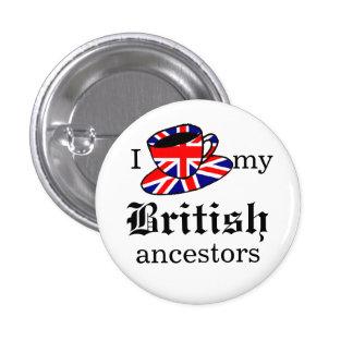 I love my British ancestors Button