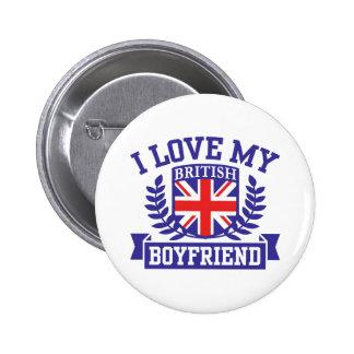 I Love My British Boyfriend Pinback Button
