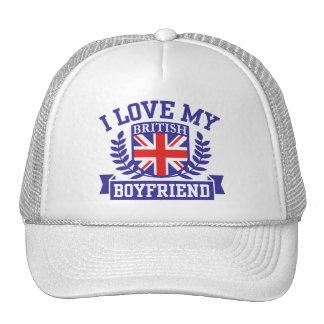 I Love My British Boyfriend Trucker Hat