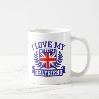 I Love My British Girlfriend Coffee Mug