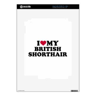 I love my British Shorthair cat iPad 2 Decals