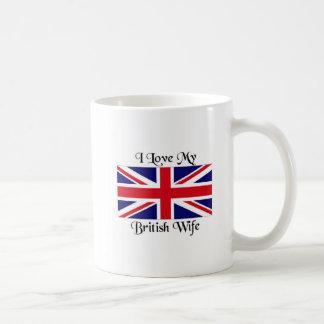 I love my British wife Coffee Mug