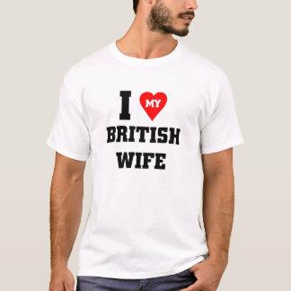 I love my British Wife T-Shirt