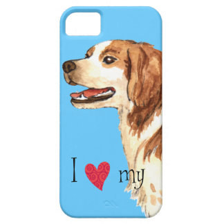 I Love my Brittany iPhone SE/5/5s Case