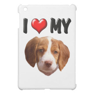 I Love My Brittany Spaniel Case For The iPad Mini