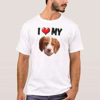 I Love My Brittany Spaniel T-Shirt