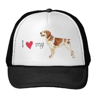 I Love my Brittany Trucker Hat
