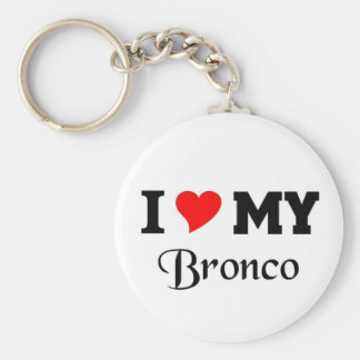 I love my Bronco Key Chains