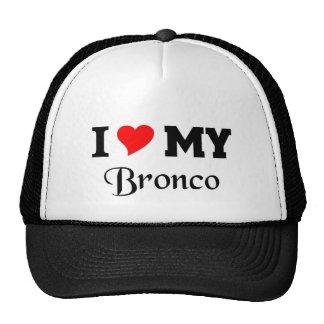 I love my Bronco Trucker Hat