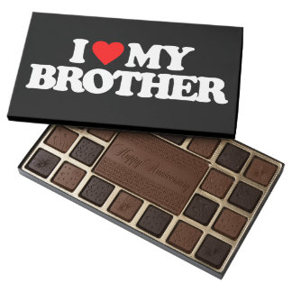 I LOVE MY BROTHER ASSORTED CHOCOLATES
