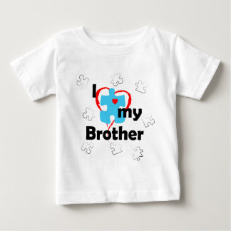 I Love My Brother - Autism Tee Shirt