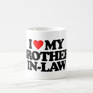 I LOVE MY BROTHER-IN-LAW COFFEE MUG