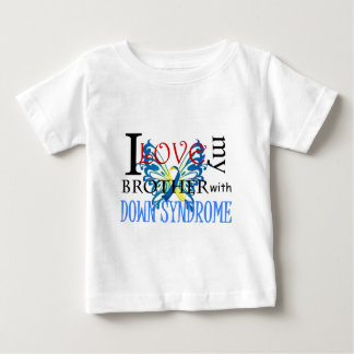 I Love My Brother with Down Syndrome Baby T-Shirt
