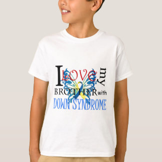 I Love My Brother with Down Syndrome T-Shirt