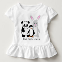 I love my brothers toddler t-shirt