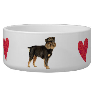 I Love my Brussels Griffon Bowl