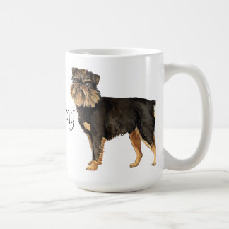 I Love my Brussels Griffon Coffee Mug