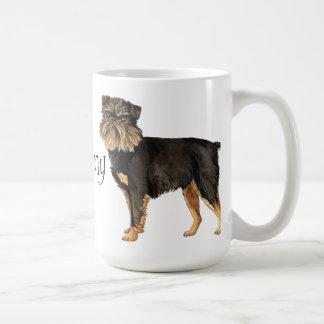I Love my Brussels Griffon Coffee Mug