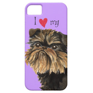 I Love my Brussels Griffon iPhone SE/5/5s Case