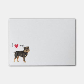 I Love my Brussels Griffon Post-it® Notes