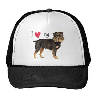 I Love my Brussels Griffon Trucker Hat