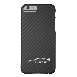 I Love My BRZ Barely There iPhone 6 Case