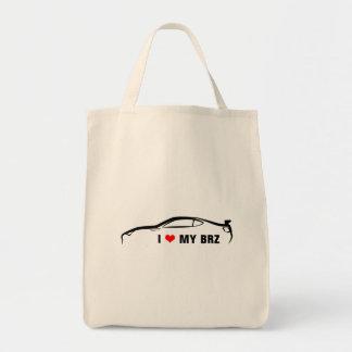 I Love My BRZ Tote Bag