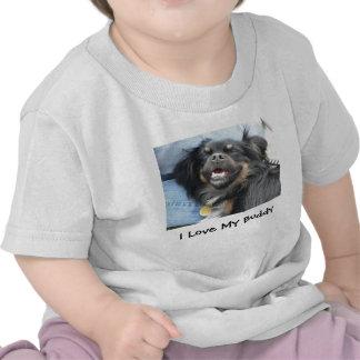 I Love My Buddy Baby Shirt