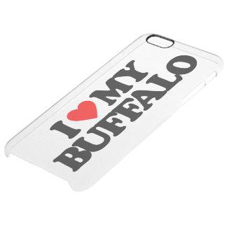 I LOVE MY BUFFALO CLEAR iPhone 6 PLUS CASE